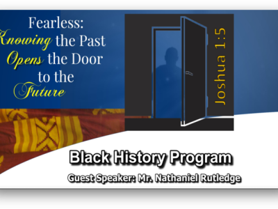 Fearless: Knowing the Past Opens the Door to the Future